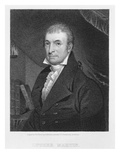 Luther Martin, Engraved by William A. Wilmer (C.1820-55) (Engraving) Giclee Print by  American