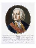 Joseph-Francois, Marquis Dupleix Giclee Print by Antoine Louis Francois Sergent-marceau