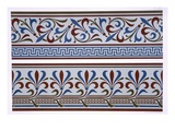 Neo-Grec Ornament: Border and Dado Designs, Plate XXIV Reproduction procédé giclée par George Ashdown Audsley