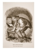 The Sewer-Hunter, from the Daguerreotype by Richard Beard Giclee Print by  English