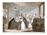 Printing-Office (The Victoria Press) in Great Coram-Street, for the Employment of Women Giclee Print by  English