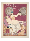 Aromatic Fumigations, Illustration from 'The Works of Hippocrates', 1934 (Colour Litho) Giclee Print by Joseph Kuhn-Regnier