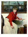 Chica in a Bar, 1892 Giclee Print by Ramon Casas i Carbo
