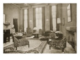 Lounge, 1930 (B/W Photo) Giclee Print by Jacques-emile Ruhlmann