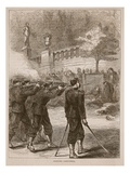 Shooting Communists, 1871 Giclee Print by  French
