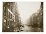 High Street, Glasgow, C.1878 (B/W Photo) Giclee Print by Thomas Annan