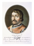 William the Conqueror Giclee Print by Antoine Louis Francois Sergent-marceau