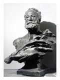 Victor Hugo, C. 1885 (Bronze) Giclee Print by Jean Alexandre Joseph Falguiere