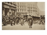 Berlin During the Spartacist Insurrection, 1919 (B/W Photo) Giclee Print by  German photographer