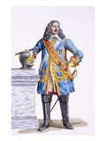 George Monke (1608-70) Duke of Albermarle Giclee Print by Pierre Duflos