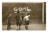 Boys Playing in the East End, from 'Wonderful London', Published 1926-27 (Photogravure) Giclee Print by  English Photographer