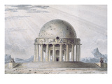 Design for a House for a Cosmopolite, 1783 Giclee Print by Antoine Laurent Thomas Vaudoyer