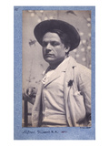 Alfred Gilbert, 1892 (B/W Photo) Giclee Print by Frederick Hollyer