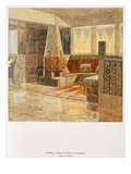 Gentleman's Room, Designed by Gesellius, Lindgren and Sarrinen-Helsingfors Giclee Print by  Finnish