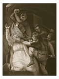 The Death of Becket, Engraved by J.Stowe Giclee Print by John Opie