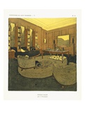 Study, from 'Repertoire of Modern Taste', Published 1929 (Colour Litho) Giclee Print by Jacques-emile Ruhlmann
