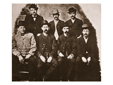 The Dodge City Peace Commission, June 1883 (Sepia Photo) Giclée-Druck von  American Photographer
