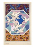 Motifs Decoratifs Plate 13, 1922 (Colour Litho) Giclee Print by Auguste H. Thomas
