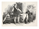 Cromwell and Milton (Litho) Giclee Print by  English