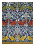 Example of Printed Egyptian Fabric, 19th Century (Chromolitho) Reproduction proc&#233;d&#233; gicl&#233;e par Emile Prisse d&#39;Avennes
