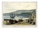 Lyme Regis, from Charmouth, Dorset Giclee Print by William Daniell