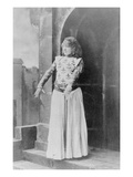Sarah Bernhardt (1844-1923) in the Role of Joan of Arc in &#39;Le Proces De Jeanne D&#39;Arc&#39; Giclee Print by Gaspard Felix Tournachon Nadar