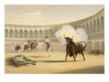 Banderillas De Fuego, 1865 (Colour Litho) Giclee Print by William Henry Lake Price