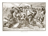 Battle of Cunaxa (Litho) Giclee Print by  English