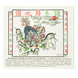 The Kilin Is Worshipped by the Pigs and Goats Who Have Realised the Errors of Christianity Giclee Print by  Chinese