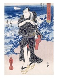 An Actor (Colour Woodblock Print) Giclee Print by Utagawa Kunisada
