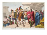 Cadmus Sets Out, Book III, Illustration from Ovid's Metamorphoses, Florence, 1832 Premium Giclee Print by Luigi Ademollo