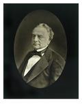 Isaac Pereire (1806-80), from 'Galerie Contemporaine', C.1874-78 (B/W Photo) Gicléedruk van  Nadar