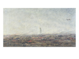 The Dream - Paris Burning', 1870 Giclee Print by Jean-Baptiste-Camille Corot