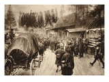 Between Brenta and Piave (B/W Photo) Giclee Print by  German photographer