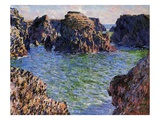 Port-Goulphar, Belle-Ile, Brittany, 1886 (Oil on Canvas) Giclee Print by Claude Monet