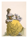 Colinette', Plate No.315 from 'Galeries Des Modes Et Costumes Francais', C.1778-87 Giclee Print by  French
