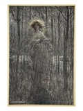 Fair Helena, Who More Engilds the Night Than All You Fiery Oes and Eyes of Light Giclee Print by Arthur Rackham