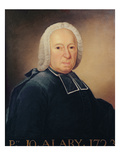 Abbe Pierre-Joseph Alary (1689-1770) Giclee Print by  French