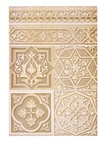 Pl 18 Architectural Decoration, 19th Century (Folio) Giclee Print by  N. Simakoff