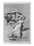 193-0082172 You Will Not Escape, Plate 72 of 'Los Caprichos', 1799 (Etching) Giclee Print by Francisco de Goya