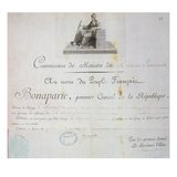 Nomination of Charles Maurice De Talleyrand-Perigord (1754-1838) to Position of Foreign Minister Giclee Print by  French