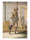 Groom, from 'The Hindus, or the Description of their Manners, Costumes and Ceremonies', C.1808-12 Giclee Print by Franz Balthazar Solvyns
