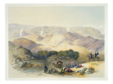 Jugdelluk, the Last Stand Made by General Elphinestone's Army in the Calamitous Retreat, Plate 21 Giclee Print by James Rattray