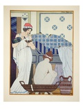 A Bath Seat, Illustration from 'The Works of Hippocrates', 1934 (Colour Litho) Giclee Print by Joseph Kuhn-Regnier