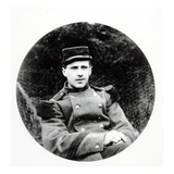 Jules-Andre Peugeot, First French Soldier to Be Killed in the First World War on 2 August 1914 Giclee Print by  French Photographer