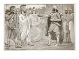 Interview Between Agesilaus and Pharnabazus (Litho) Giclee Print by  English