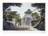 View of a Mosque at Chunar Gur, 1786 (Aquatint) Giclee Print by William Hodges