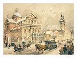 Church of Ss. Peter and Paul, Krakow, from 'Klejnoty Miasta Krakowa', Published 1899 (Colour Litho) Premium Giclee Print by Juliusza & Tondosa, Stanislawa Kossaka