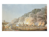 Rus Ul Khyma from the SW and the Situation of the Troops, November 13th 1809 Giclee Print by R. Temple