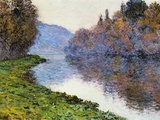 The Seine at Jenfosse, 1884 Giclee Print by Claude Monet